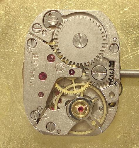Mechanical watch Luch inside 4